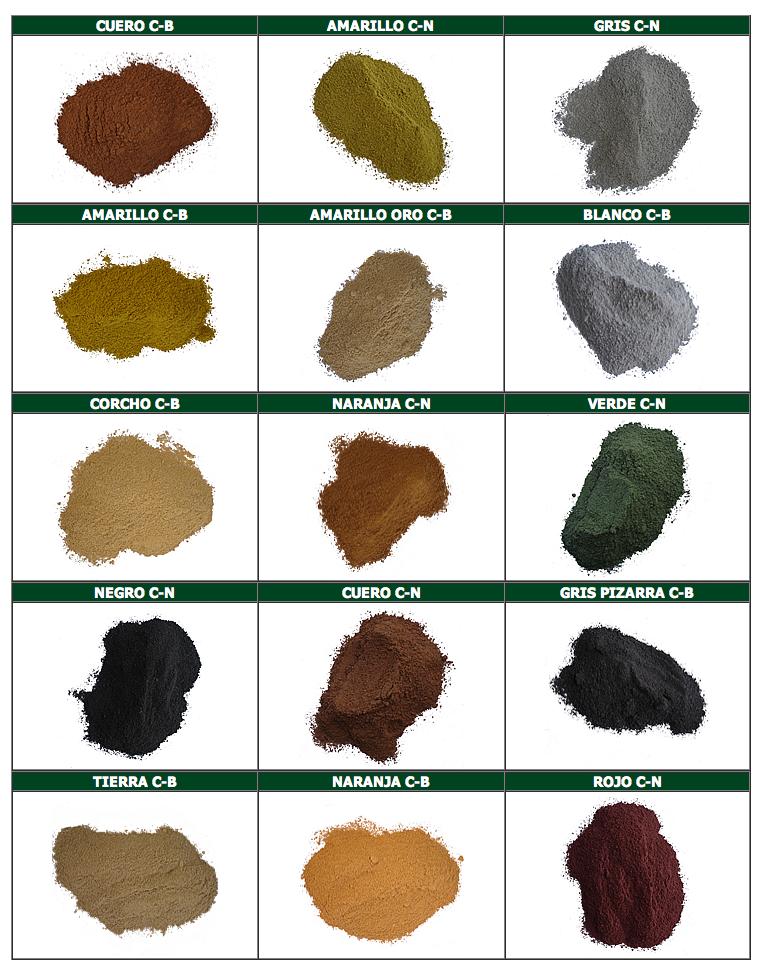 Paleta de colores – Rodaduras